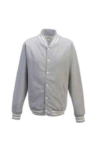 AWDis College Jacket Compatible Smartphone Gris - Gris