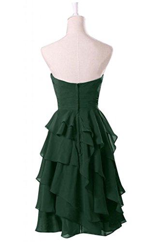 Vimans -  Vestito  - linea ad a - Donna Army Green