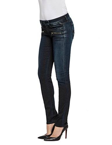 Replay Brigidot, Jeans Femme Bleu - Blau (Blue Denim 7)