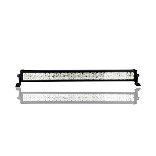 LED light bar Barra luminosa a LED, barra luminosa da lavoro impermeabile da 180 W a 31 pollici per guida fuoristrada, guida della lampada antinebbia con staffa di montaggio per fuoristrada, barra lum