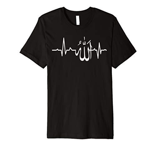 Muslim Herzschlag Allah Cool Spirituelle Religiöse T Shirt