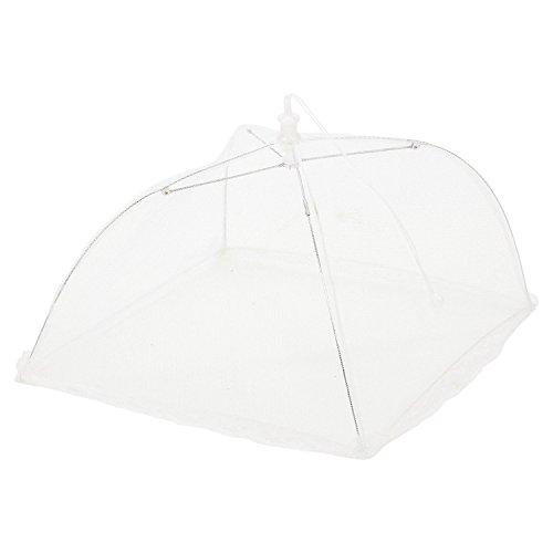 2 x pliable de protection gâteau de nourriture barbecue couvertures pliante en maille Parapluie