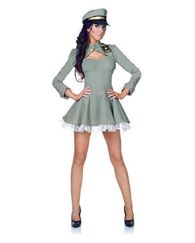 U.S. Army Sexy Bravo Uniform Dress Adult Large 12-14