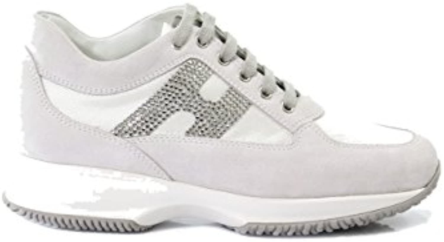 Hogan Shoes With Parent Nhta 30295 Strass Womens B0797smwq2 Flash  Olivia Sneakers Ivory 38 0df3e09