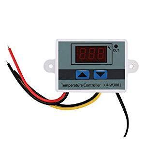 KKmoon XH-W3001 Temperaturregler mit LCD-Display, digital, Thermostat, Mikrocomputer, Thermoelement-Thermostat