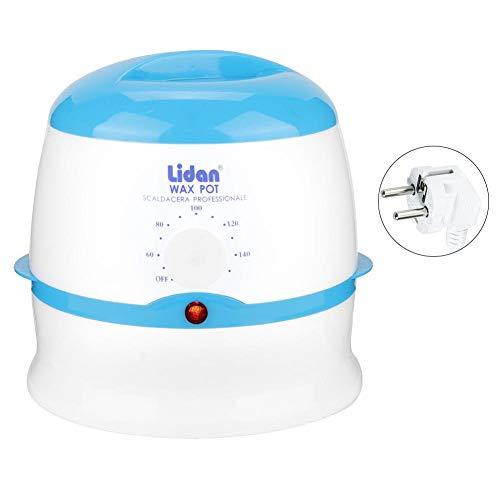 Simlug Wachswärmer für die Haarentfernung Home Waxing Kit für Frauen Männer Schmerzloser elektrischer Wachswärmer(Blau) (Waxing Kit Home)