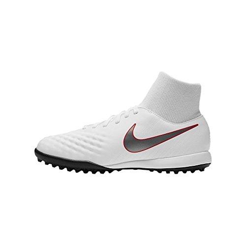 Nike Magista Obra X 2 Academy DF TF JR AH7318, Botas de fútbol Unisex Adulto, Mehrfarbig Indigo 001...