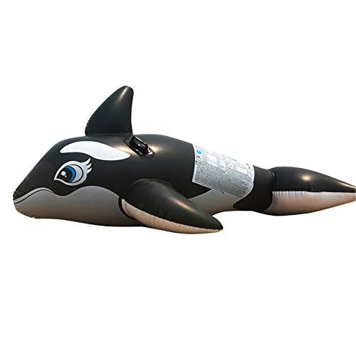SSBH Wasser aufblasbare Schwimmer Reihe Spielzeug, Tier Delphin Hai Luftschiff Form Erwachsenes Kind Mount Spielzeug Schwimmen Schwimmring, Kinder spielen Wasser schwimmendes Bett, Schwimmen Urlaub Po (Aufblasbare Luftschiff Kostüm)