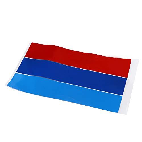 SoonerQuicker Adesivo di personalità Adesivi Bello Grille Kidney M Sport Stripe 3 Decalcomania A Colori in Vinile per BMW all