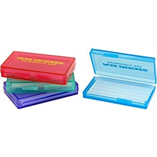 Orthodontic Relief Wax Unscented Colourful Boxes Assorted - 4 Pack