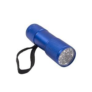 Mountain Warehouse Fun 9-LED-Taschenlampe – Taschenlampe mit Handgelenkriemen, 9 weiße LEDs, strapazierfähig – Für Camping, Reisen