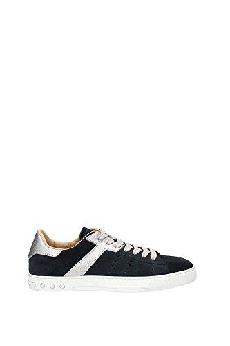 XXM0XY0O670CKT178X Tod's Sneakers Homme Chamois Bleu Bleu