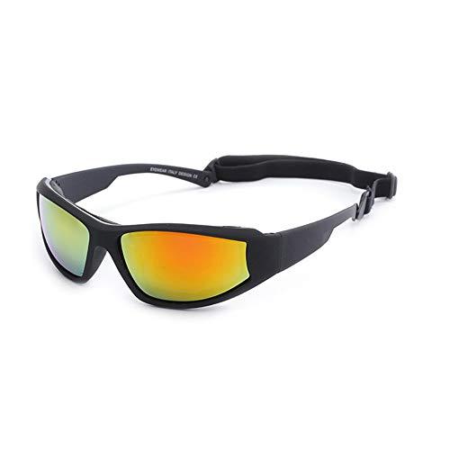 Sonnenbrillen Mode Outdoor Radfahren Brille Skibrille Fahrrad Motorrad Sonnenbrille Herren Sonnenbrille Tornado Radfahren Laufen Sport Sonnenbrille Explosionsgeschützte Sonnenbrille ( Farbe : B )