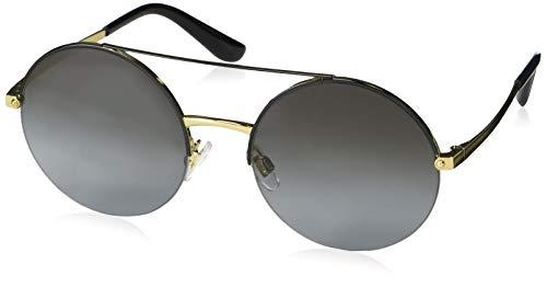 Ray-Ban Damen 0DG2237 Sonnenbrille, Schwarz (Gold/Black), 54.0