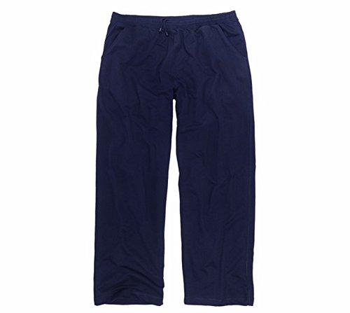 ADAMO Freizeithose - Jogginghose in dunkelblau, in großen Größen von 3XL - 12XL