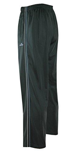 Jogginghose, Sport- Freizeithose offener Saum K-Größen-Grau-3XL