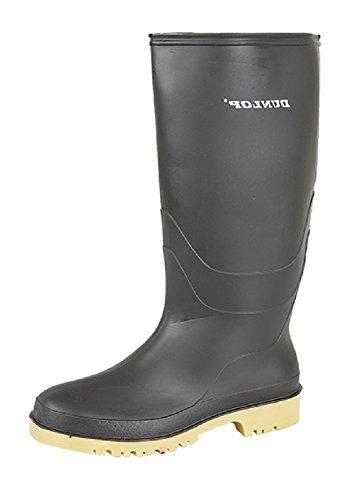 Dunlop - Stivali Unisex per bambini Nero (nero)