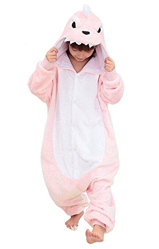 Pijama Unisex Dragón Rosa