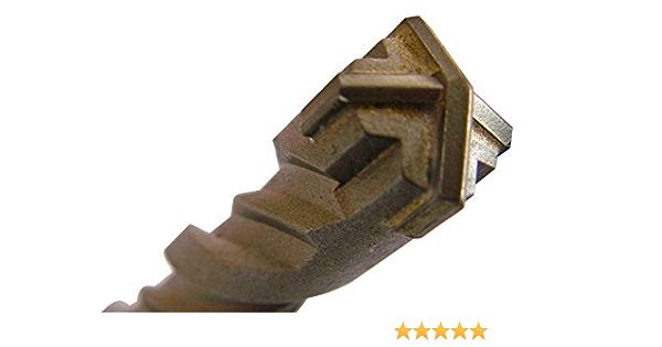 mit ergonomischer Wendel X-Cut SDS Bohrer 14mm x 160mm mit SDS Plus Aufnahme