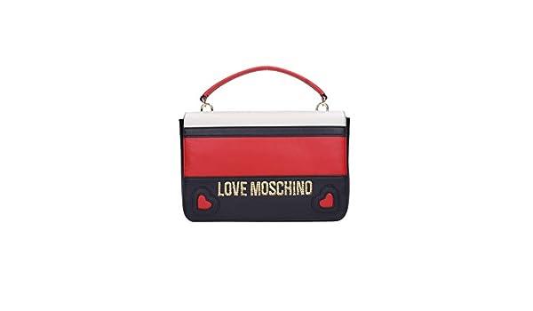 3477654fe0 Love Moschino JC4337PP06 Borse Donna Rosso/nero TU: Amazon.it: Abbigliamento