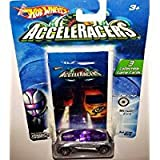 Hot Wheels AcceleRacers Silencerz #2 of 9 - Nitrium CM6 (6 spoke version)