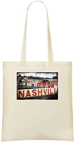Jimmy Apparel Nashville Konzert - Nashville Concert Custom Printed Shopping Grocery Tote Bag 100% Soft Cotton Eco-Friendly & Stylish Handbag For Everyday Use Custom Shoulder Bags