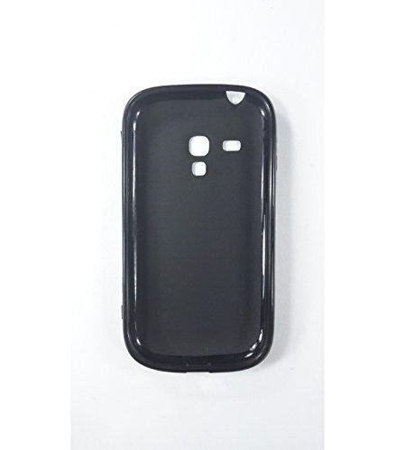 Funda de gel TPU carcasa protectora silicona para Samsung Galaxy S3 Mini Negra