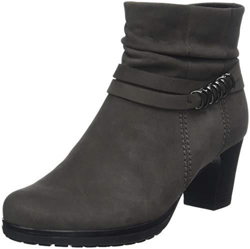 Gabor Shoes Damen Comfort Basic Stiefeletten, Grau (Anthrazit (Micro) 30), 38 EU