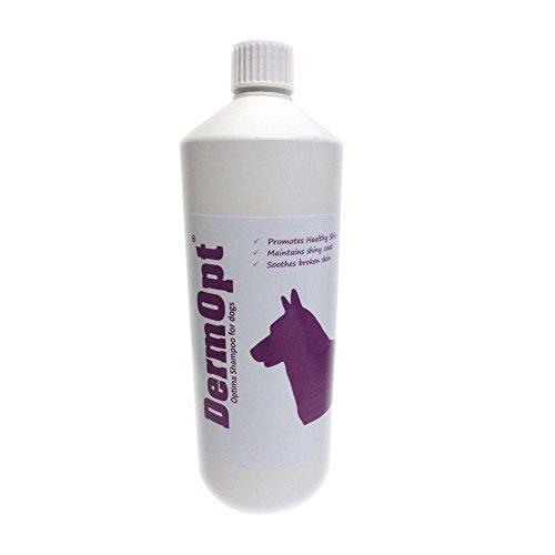 DermOpt® Optima Dog Shampoo für gesundes Weiche Haut und glänzendes Fell Coat, Best Shampoo für juckende Hunde Tick Shampoo