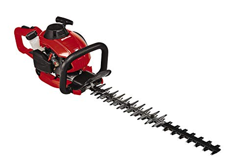 Einhell GE-PH 2555 A 2-Stroke 25 cc Petrol Hedge Trimmer with Autochoke and Diamond Ground Blade - Red