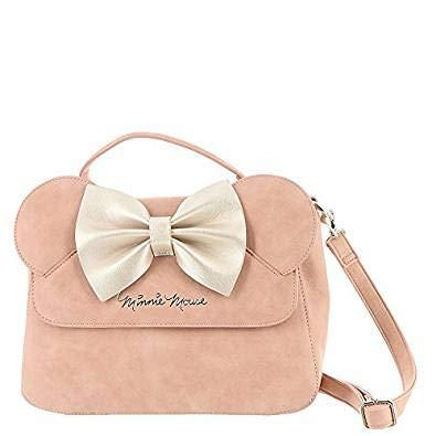 Damenhandtasche Disney Minnie Mouse mit Schleife rosa