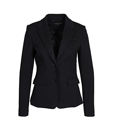 drykorn anzug damen Drykorn Damen Jersey-Blazer Boulder in Schwarz 1000 Black 3