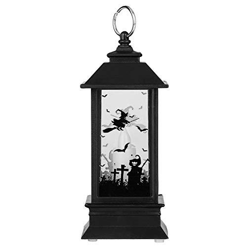 FTVOGUE Candelabro Halloween Llama Luz Simulación