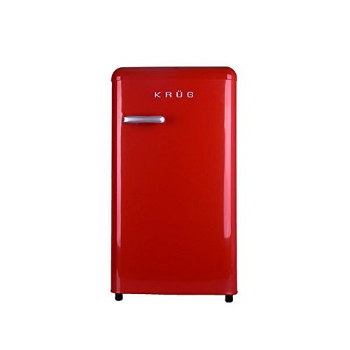 krug-retro-fridge-red-chrome-handle-compact-under-counter-88l-89-x-48-x-545