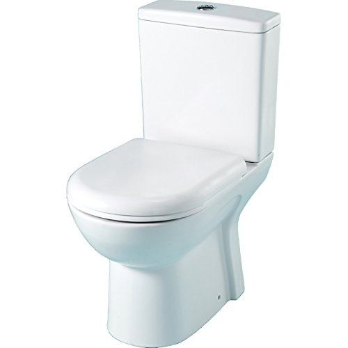 Pack WC à poser gain de place avec une cuvette maxi confort Sortie  Horizontale 63dce11941cd