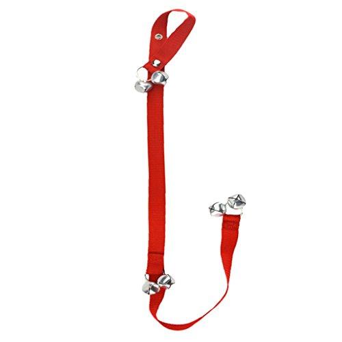 Censhaorme Hundetraining Türklingeln Puppy Potty Glocken Alarm Einstellbare Tür Hund Bell Pot Pet Rope Clicker Stubenreinheit (Hund Töpfchen Bell)