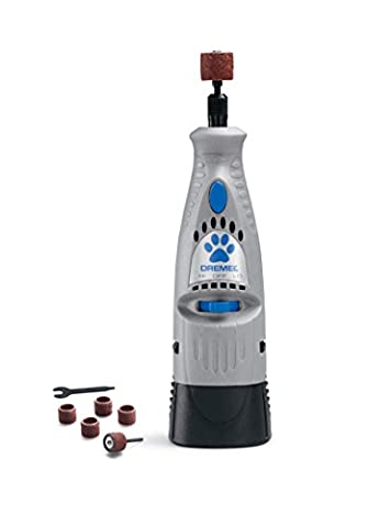 Dremel 7300-PT 4.8-Volt Pet Grooming Kit For Grinding Pet Nails Cordless