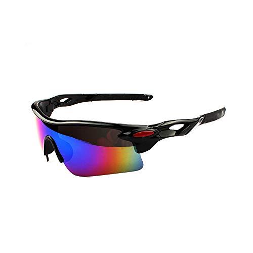 Sonnenbrillen Polarisierte Männer UV-Schutz Fliegerbrille Coole Brille Sonnenbrille Herren Clip Sunglasses Verspiegelt Outdoor Reiten Sport Fahren Tourismus Hell Schwarz Rahmen Grün Linse