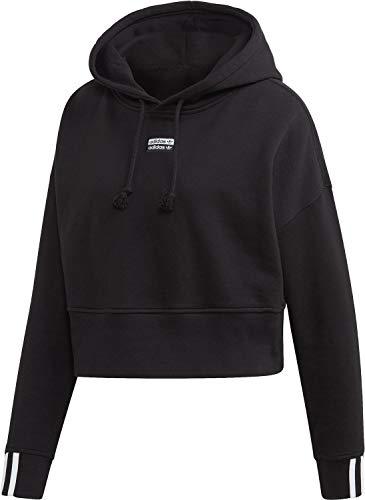 adidas Originals Hoody Damen Vocal Crop Hood EJ8537 Schwarz, Size:36