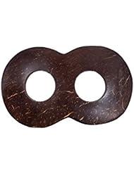 Sarongschnalle Pareo Wickel Rock Schnalle Spange Schliesse aus Kokos zum Sarong binden - sieben verschiedene Formen zur Auswahl