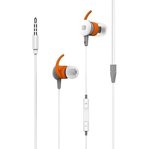 In-Ear Auriculares, Doosl® 1.2M AuricularesIn-Ear Sport Estéreo de auriculares para mejorar y aislar del ruido para iPhone 6s plus 6s 6 plus 6 5s 5 5c iPod, iPad, Samsung S6 S5 HTC LG G5 MP3