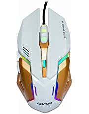 Adcom Maverick - RGB LED 6D USB Wired Gaming Optical Mouse w