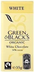 GREEN & BLACKS - Organic White Chocolate Bar - 35g
