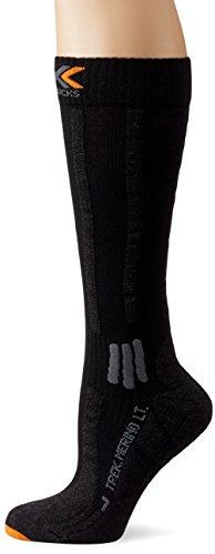 X-Socks Trekking Light Respirantes pour Adulte à Manches Longues en Laine mérinos