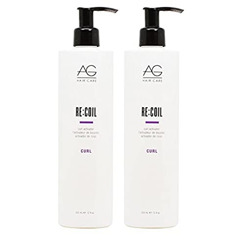 AG Recoil Curl Activator 12oz by AG Hair Cosmetics (Recoil Curl-activator)