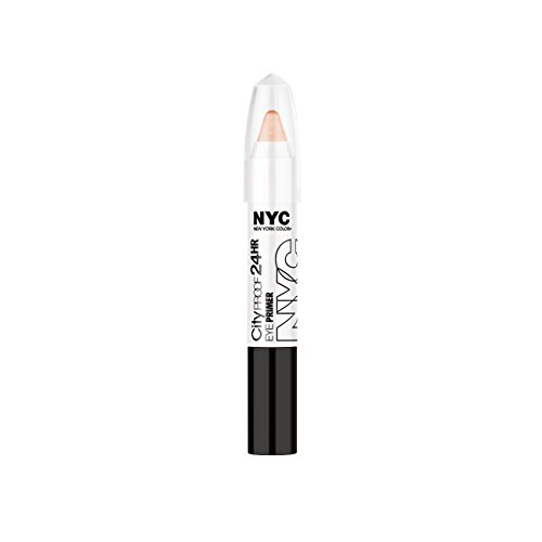N.Y.C. New York Color City Proof 24 Hr Eye Shadow, Primer, 0.07 Ounce