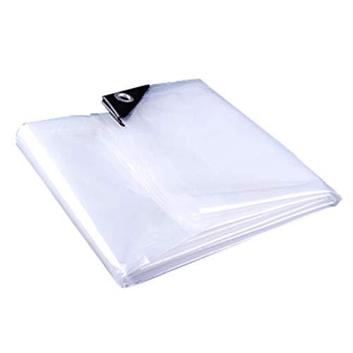 HUIYUAN Transparente wasserdichte Plane (Size : 4 * 10M)