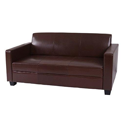 Mendler 3er Sofa Busto, Loungesofa Couch, Leder