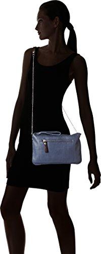 Paquetage Bt, Poschette giorno donna Blu (Bleu (080/Petroleo))