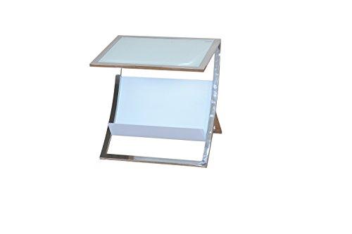 heinz-hofmann-2942cw-beistelltisch-mit-zeitungsablage-weissglas-b-50-x-t-40-x-h-48-cm